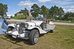 Excalibur (automobile). The excalibur automobile from milwaukee, wisconsin, was a car styled after the 1928 mercedes-benz ssk by brooks stevens for studebaker Stock Image