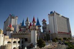 Excalibur Casino and Hotel in Las Vegas Royalty Free Stock Image