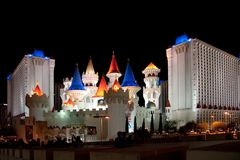 Excalibur hotel & casino Royalty Free Stock Photos