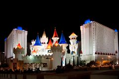 Excalibur hotel & casino Stock Images