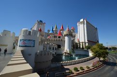 Excalibur Hotel and Casino, Excalibur Hotel and Casino, tourist attraction, building, sky, water. Excalibur Hotel and Casino, Excalibur Hotel and Casino is stock photo