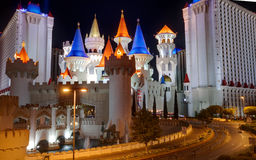 Excalibur Hotel and Casino in Las Vegas Stock Image
