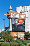 The Excalibur Hotel and Casino in Las Vegas Royalty Free Stock Image