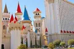The Excalibur Hotel and Casino in Las Vegas Stock Images