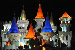 Excalibur Hotel and Casino in Las Vegas Royalty Free Stock Photography