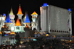 Excalibur Hotel and Casino in Las Vegas Royalty Free Stock Photos