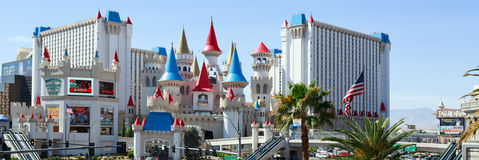 Excalibur hotel and casino Stock Photography