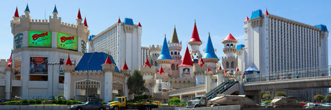 Excalibur hotel and casino Stock Photos
