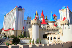 Excalibur hotel and casino, Las Vegas, Nevada Stock Images