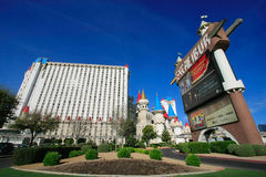 Excalibur hotel and casino, Las Vegas, Nevada Stock Photography