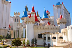 The Excalibur Hotel and Casino in Las Vegas Stock Photography