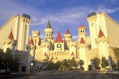 The Excalibur Hotel and Casino, Las Vegas, NV Stock Photography