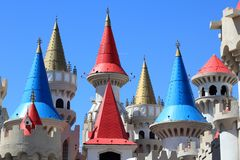 Excalibur Hotel and Casino Royalty Free Stock Photography