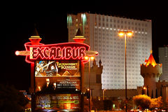 Excalibur Hotel and Casino Royalty Free Stock Photo