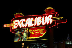 Excalibur Hotel and Casino Royalty Free Stock Images
