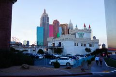 Excalibur Hotel & Casino 35. Excalibur offers everything you expect from a Las Vegas casino, with an extra dose of fun and friendliness. At the castle, you stock photo