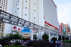 Excalibur hotel 43 & kasyno zdjęcie stock