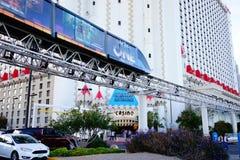 Excalibur hotel 42 & kasyno fotografia royalty free