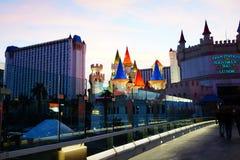 Excalibur hotel 34 & kasyno zdjęcie stock
