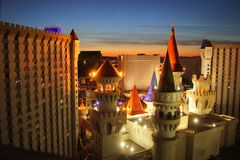 Excalibur hotel Las Vegas Stock Photography
