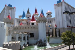Excalibur Hotel in Las Vegas Royalty Free Stock Photography