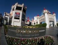 Excalibur Hotel und Kasino Las Vegas Stockfotos