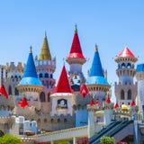 Excalibur Hotel und Kasino in Las Vegas, Nevada Lizenzfreie Stockfotografie