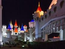Excalibur hotell och kasino Fotografering för Bildbyråer
