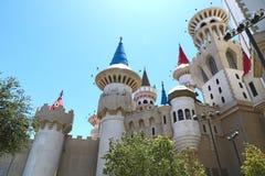 Excalibur hotellrumbyggande Arkivfoto