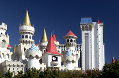 excalibur kasynowi las Nevada usa Vegas zdjęcie royalty free