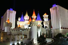 Excalibur, Las Vegas lizenzfreies stockfoto