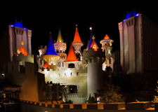 Excalibur in Vegas Stock Photography