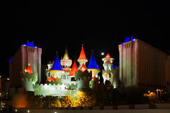 Excalibur in Vegas Stock Photos