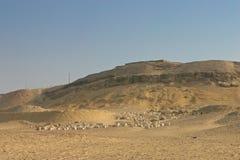 Excavación en Giza. Egipto imágenes de archivo libres de regalías
