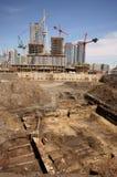 Excavación histórica de Toronto Imagen de archivo