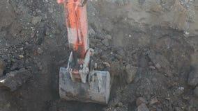 Excavación picadora almacen de video