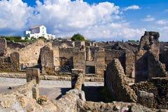 Excavaciones arqueológicas de Pompeya, Italia Fotos de archivo