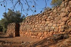 Excavaciones de la arqueología Imagen de archivo