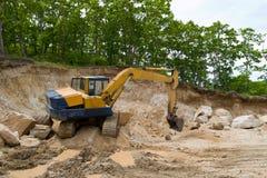 Excavador. Foto de archivo libre de regalías