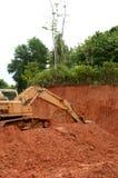 Excavador Imagen de archivo