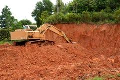 Excavador Fotografía de archivo