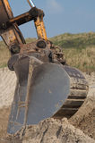 Excavador Foto de archivo libre de regalías