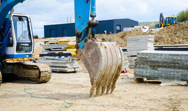 Excavador bucked Foto de archivo libre de regalías