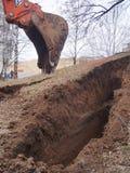 Excavador Bucket Fotos de archivo libres de regalías