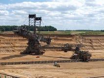 excavador de la Compartimiento-rueda Foto de archivo