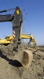 Excavador de la construcción Imagen de archivo