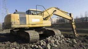 Excavador de la construcción Imagen de archivo libre de regalías