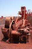 Excavador de rueda de compartimiento Foto de archivo libre de regalías