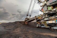Excavador de rueda de compartimiento gigante Fotos de archivo libres de regalías