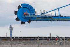 Excavador de rueda de cubo gigante Foto de archivo